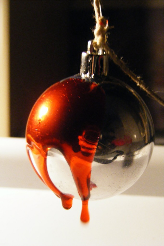 bloody ornament