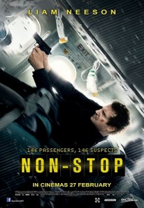 Non Stop 2014 Liam Neeson Action Thriller Action Movie Review Scared Stiff Reviews