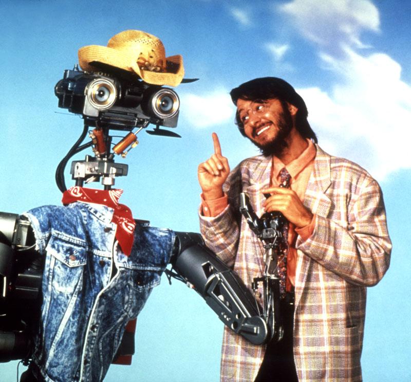 Short Circuit 2 (1988) – NUMBER FIVE ALIVE ROBOT Movie