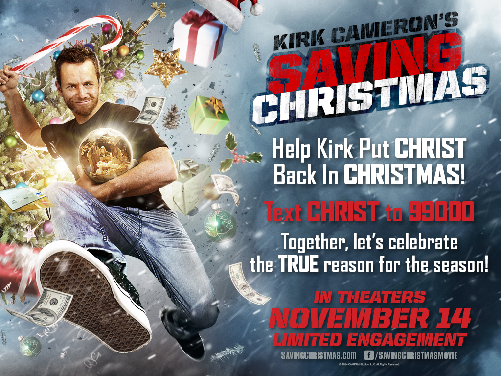 Saving Christmas.Saving Christmas 2014 Kirk Cameron Xmas Movie Review