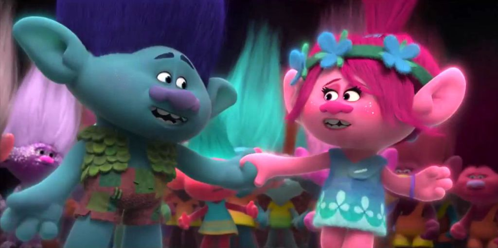 Trolls 2016 Dreamworks Family Film Review Scared Stiff Reviews