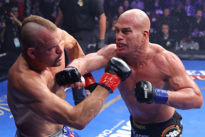 Chuck Liddell KNOCKED OUT IN ONE: End of the Iceman – Tito Ortiz