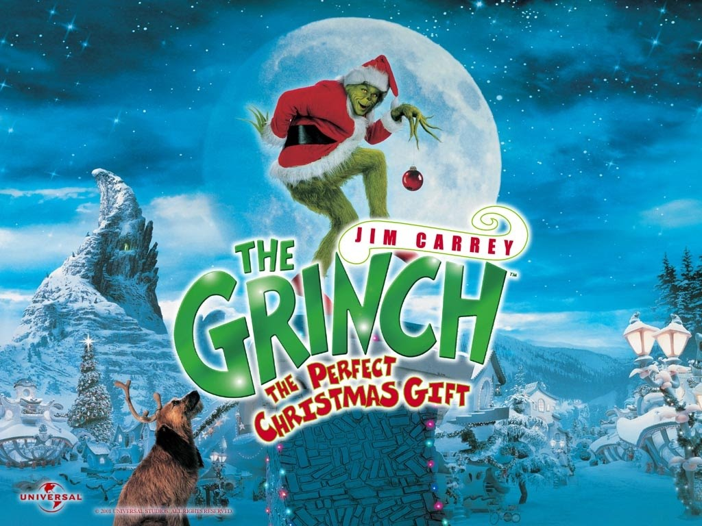 How The Grinch Stole Christmas Movie.How The Grinch Stole Christmas 2000 Jim Carrey Xmas Dr