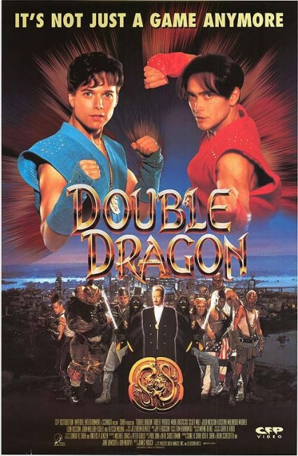 Double Dragon 1994 Mark Dacascos Robert Patrick Alyssa Milano Video Game Movie Review Scared Stiff Reviews